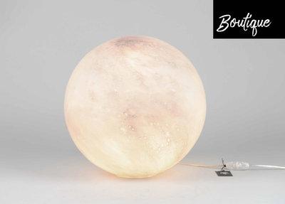 Bolvormige Glazen Lamp Blush