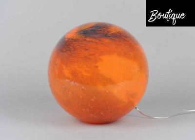 Bolvormige Glazen Lamp