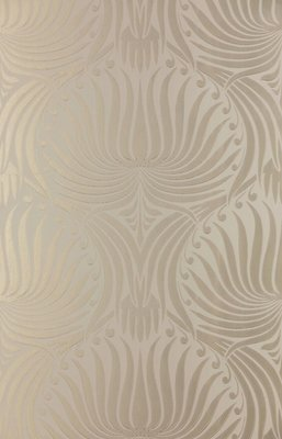 Farrow and Ball Lotus Behang Metallic