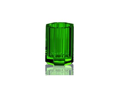 Groene Tandenborstelhouder Decor Walther Kristal