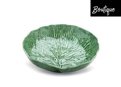 Bordallo Saladeschaal Koolbladeren Groen
