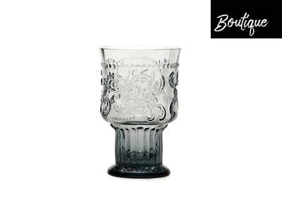 Fleur de Lys Drinkglas L Grijs