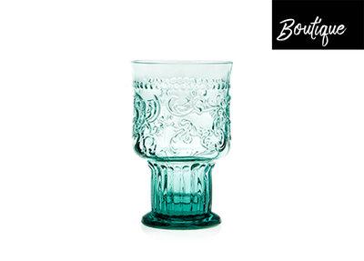 Fleur de Lys Drinkglas L Blauw