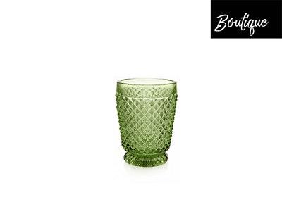 Diamond Waterglas Groen