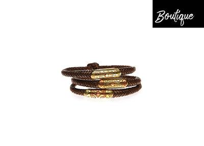 Leren Armband Touareg Bruin