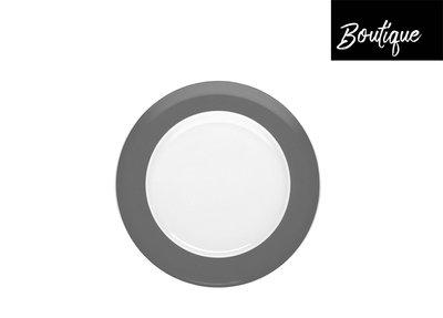 4x Rosenthal Ontbijtbord Grey Sunny Day 22 cm