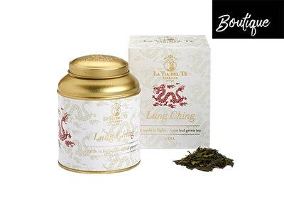 Lung Ching Groene Thee In Luxe Blik La Via del Tè