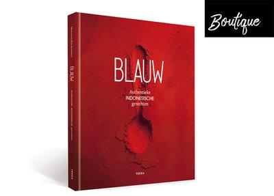 Kookboek BlauwAuthentieke Indonesische Gerechten