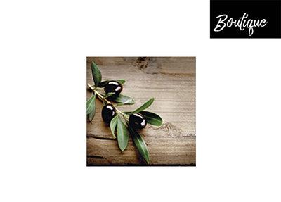 Servet Olives On A Wood
