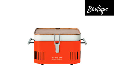 Barbecue Houtskool Cube Oranje Everdure