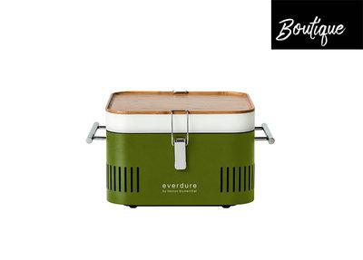 Barbecue Houtskool Cube Everdure Groen