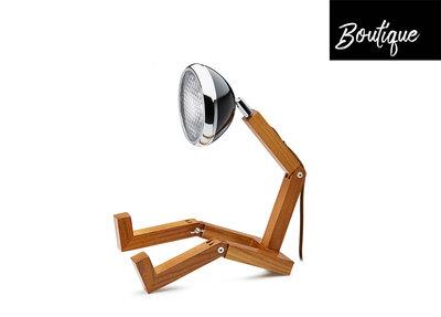 Mr Wattson Tafellamp Vintage Zwart