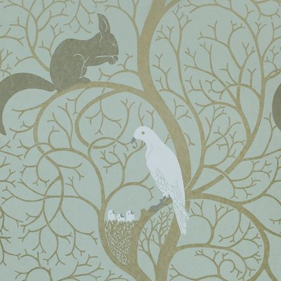 Squirrel & Dove: Eggshell/Ivory