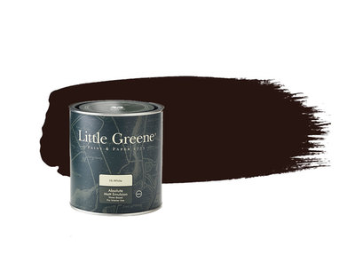 Little Greene Verf Purple Brown (8)