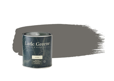 Little Greene Verf Dark Lead Colour (118)
