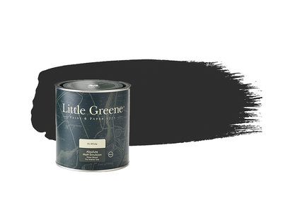 Little Greene Lamp Black Verf (228)