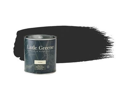 Little Greene Lamp Black Verf (228)