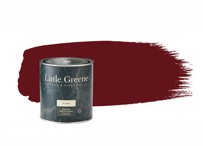 Little Greene Verf Baked Cherry (14)