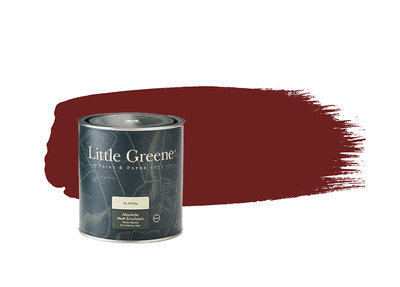 Little Greene Verf Bronze Red (15)