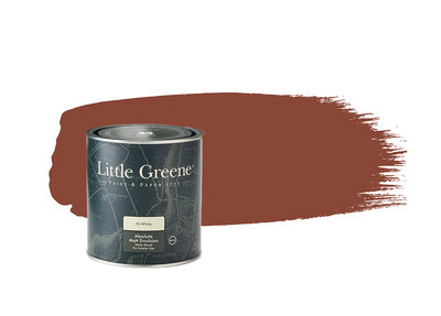 Little Greene Verf Tuscan Red (140)
