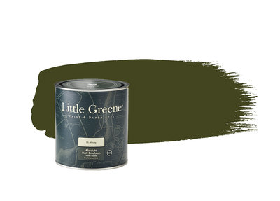 Little Greene Verf Olive Colour (72)