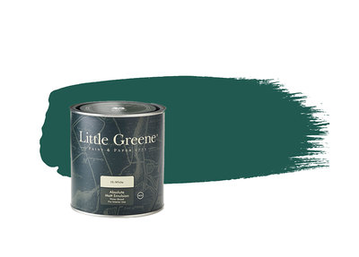 Little Greene Verf Mid Azure Green (96)