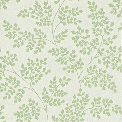 Coralie Leaf Green/Ivory