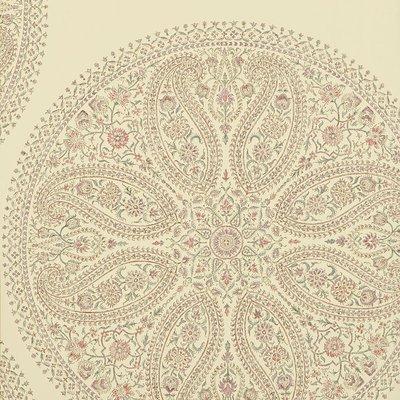 Paisley Circles Mauve/Rose