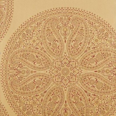 Paisley Circles Gold/Russet