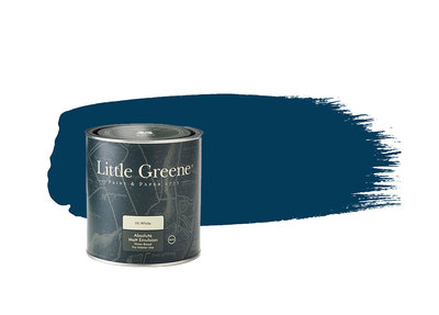 Little Greene Paint Deep Space Blue (207)
