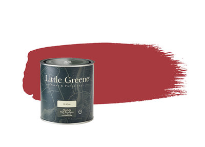 Little Greene Verf Cape Red (279)