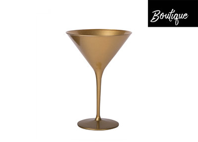 Goud Cocktailglas 240ml - set van 2