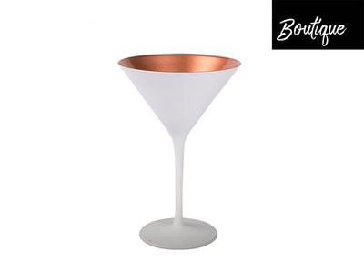 Cocktailglas Mat Wit Rose 240ml