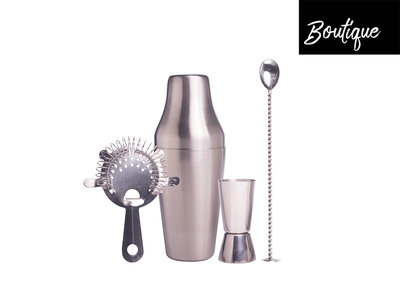 Luxe Bar Set Stainless Steel 4 pcs