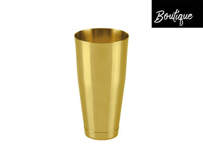 Boston Shaker Polished Gold 820ml