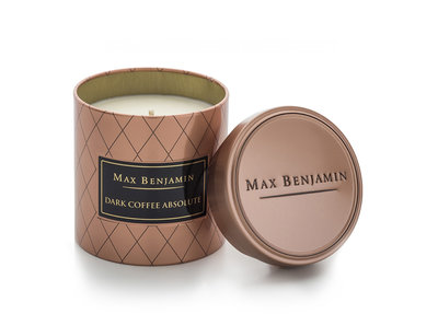 Max Benjamin Coffee Geurkaars Dark Coffee Absolute