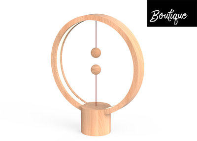 Allocacoc Heng Balance Lamp Round Bruin