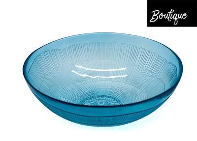 Blauwe Glazen Schaal
