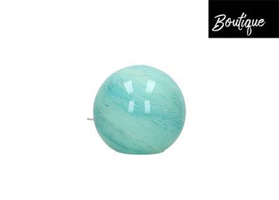 Tafellamp Bolvormig Glas Groen/Blauw