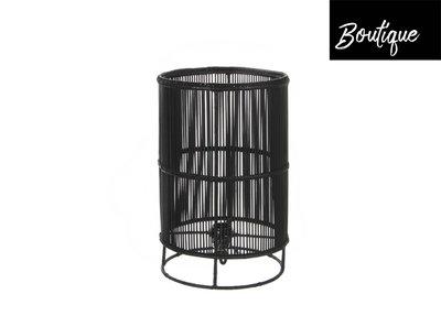 Tafellamp Bamboe Zwart