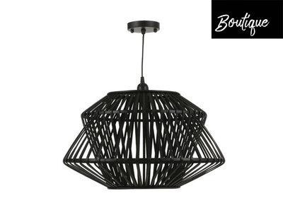 Hanglamp Bamboe Zwart