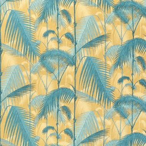 Cole and Son Palm Jungle stof F111-2003 geel groen