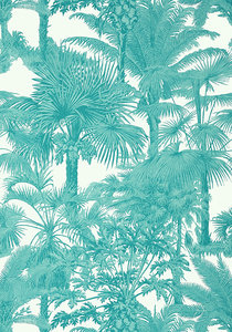 Thibaut Palm Botanical Behang Tropics Behang Collectie T10101