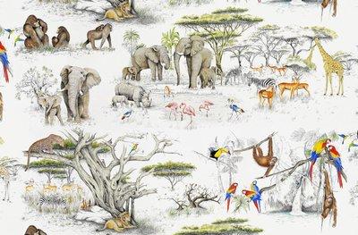 Pierre Frey Masai Mara Behang Les Dessins 2 Behang Collectie FP433001