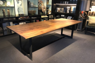 Luxe Eettafel Edge Luxury By Nature Amsterdam