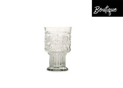 Fleur de Lys Drinkglas L Clear Luxury By Nature Boutique