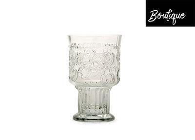 Fleur de Lys Drinkglas S Clear Luxury By Nature Boutique