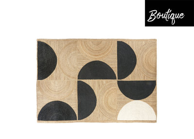 ELITIS Rocky Vloerkleed Black 250 x 350 cm
