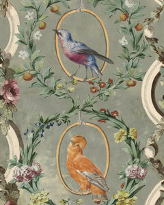 Mind the Gap Countesse's Aviarium Behang