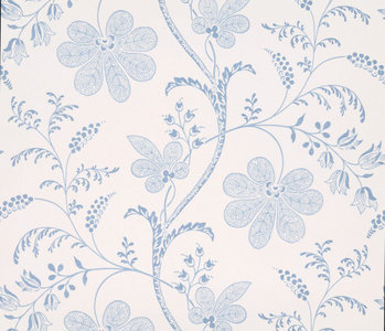 Little Greene Bedford Square Behang Porcelain Wallpapers V sfeer